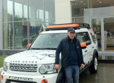 В следующий автопробег Эха отправится тот же Land Rover Discovery 4