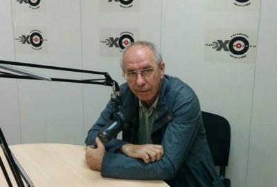 Александр Пикуленко в студии Эха Оренбурга