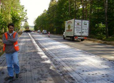 Голландцы придумали новую технологию для дорог с применением стальной проволоки