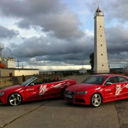 Audi RS5 кабриолет и Audi S3 Sedan