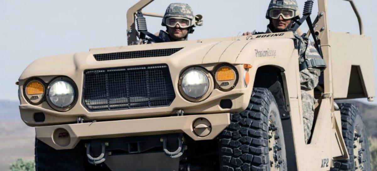 Boeing будет выпускать армейский автомобиль