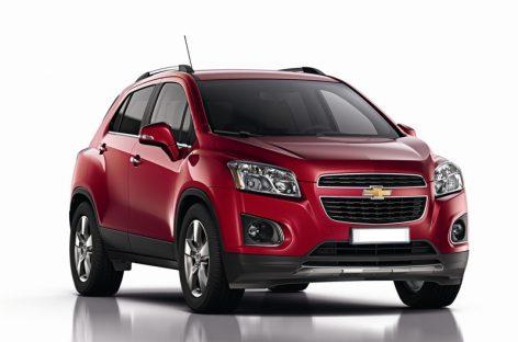 Chevrolet Tracker: Трах-тибидох!