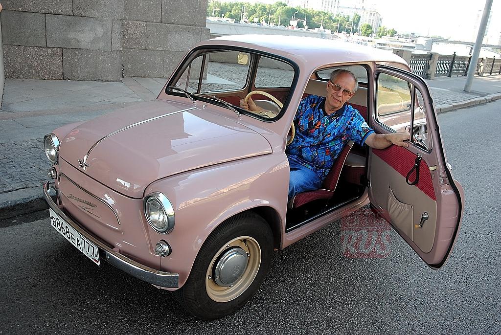 Александр Пикуленко за рулем ЗАЗ 965