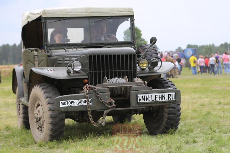 Dodge WC-57. Международный слет Моторы Войны. Реконструкция событий Второй мировой войны