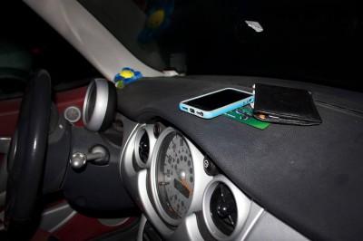 Документы в автомобиле