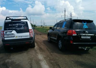 Экспедиционные автомобили Эха и Yota