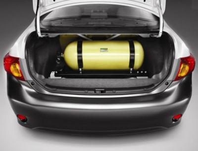 Газобаллонное оборудование в легковом автомобиле