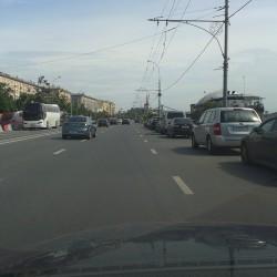 Парковка на Фрунзенской набережной