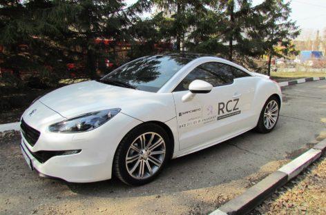 В двух словах: Peugeot RCZ