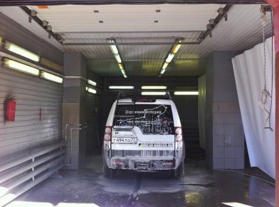 Утренний туалет железного коня Land Rover Discovery 4