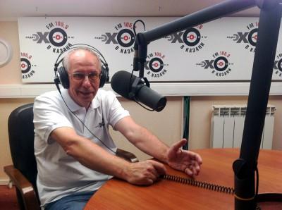 Александр Пикуленко в студии Эха Москвы в Казани