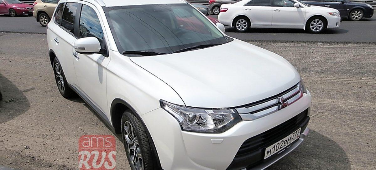 Тест-драйв: Mitsubishi Outlander