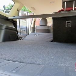 Тест-драйв Mitsubishi Outlander. Багажник автомобиля достаточно большой