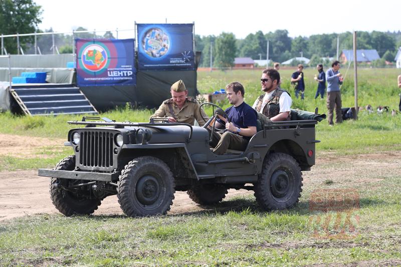 Международный слет Моторы Войны. Реконструкция событий Второй мировой войны