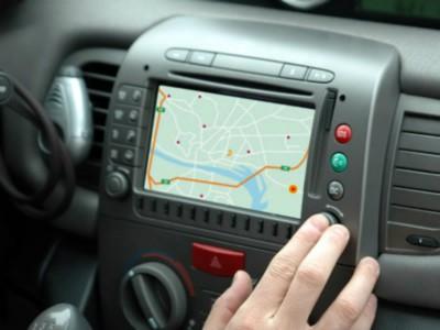 Использование навигатора за рулем