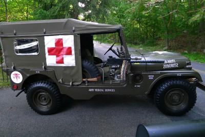 Jeep M170 скорой помощи выставлен на eBay