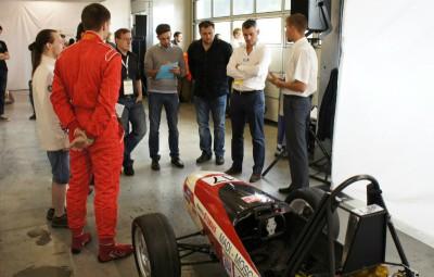 Команда МАДИ на этапе Формулы Студент в Австрии