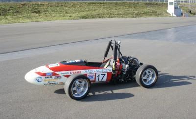 Машина команды МАДИ на соревнованиях Формула Студент