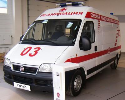 Машина скорой помощи Fiat Ducato