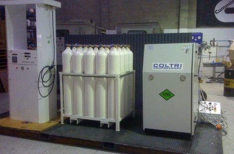 Заправлять машину метаном можно дома