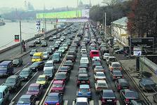 Москва в пробках