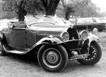 Первые литые диски – 1930 год