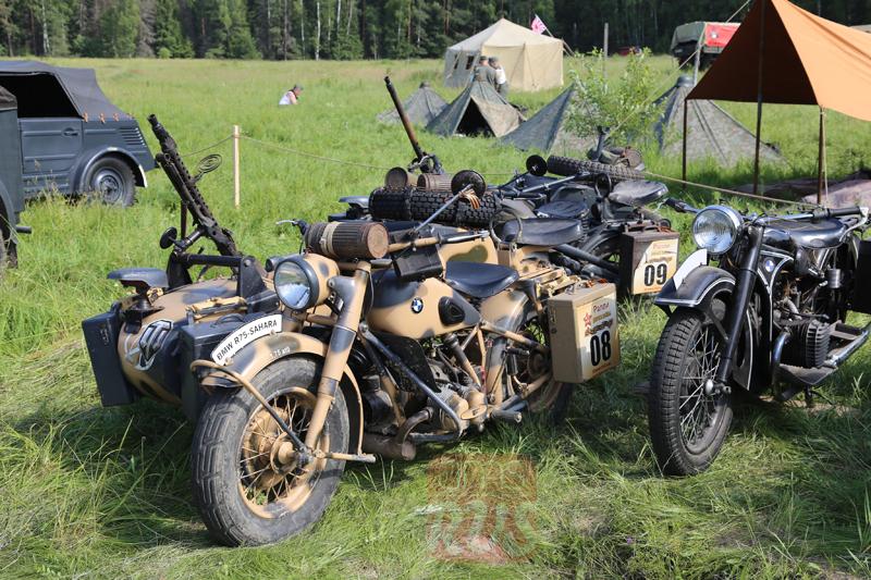 Полноприводный мотоцикл BMW R-75 Sahara