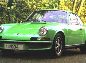 Первый оцинкованный кузов от Porsche — 1973 год