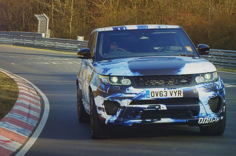 Новый Range Rover Sport SVR – самый быстрый Range Rover, который когда-либо существовал