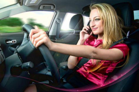 В ГИБДД рассказали, как будут штрафовать за разговоры по телефону за рулем