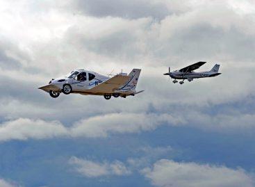 Автомобиль Terrafugia Transition – самый безопасный самолет