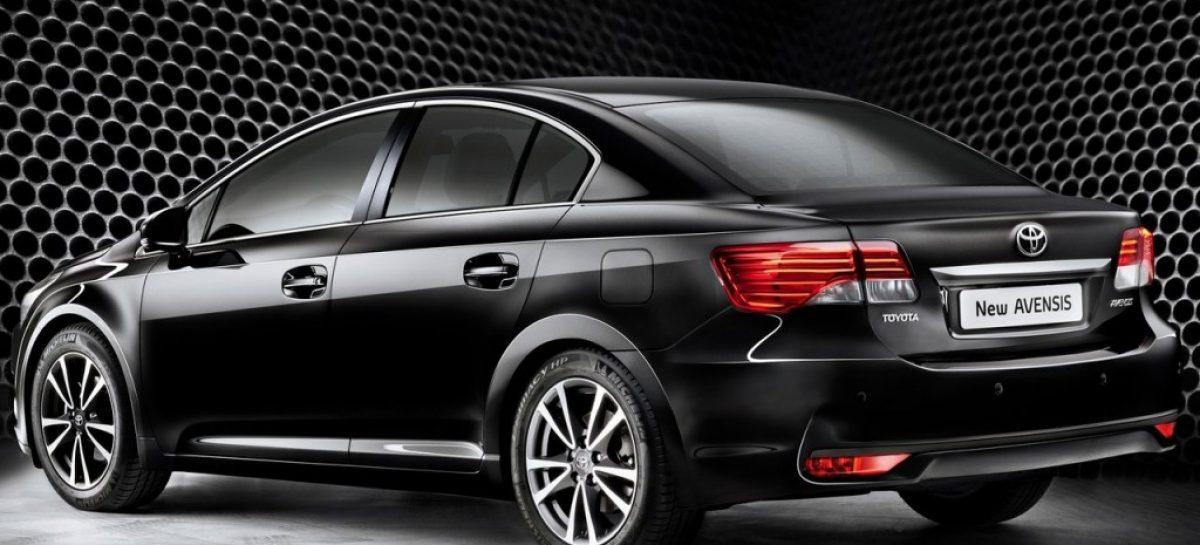 Будущее Toyota Avensis — среднеразмерные седаны уходят