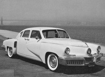 Версия идеального автомобиля Таккер Торпедо – 1947 год