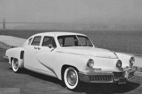 Версия идеального автомобиля Таккер Торпедо — 1947 год