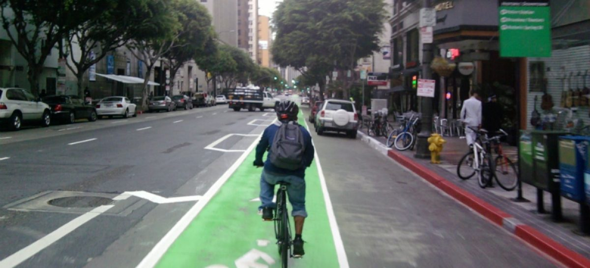 Улицы с односторонним движением отдадут под широкие велосипедные дорожки