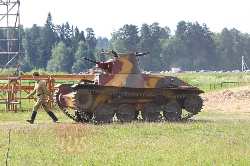 Японский танк Ha-Go