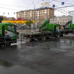 Зеленые эвакуаторы в Москве