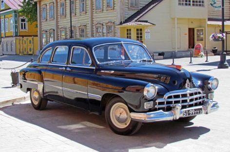 В двух словах: ГАЗ-12 ЗИМ