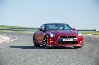 Обновленный Nissan GT-R Фото Р. Харитонов