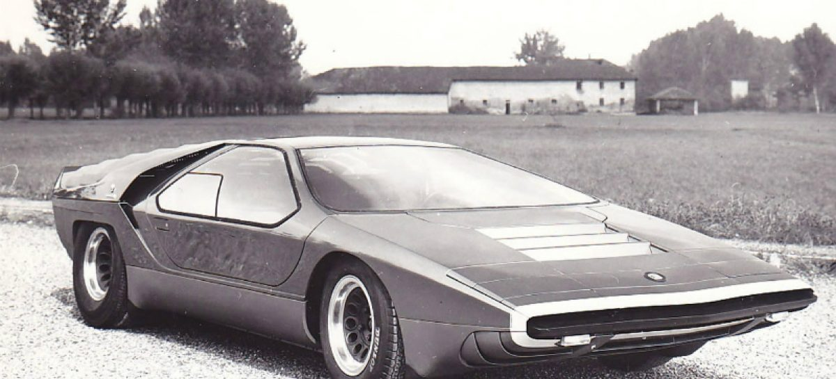 Первая машина с дверями гильотинного типа — 1968 год