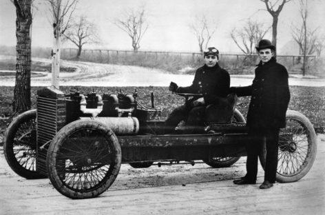 Автомобиль впервые проехал от Нью-Йорка до Сан-Франциско — 1903 год