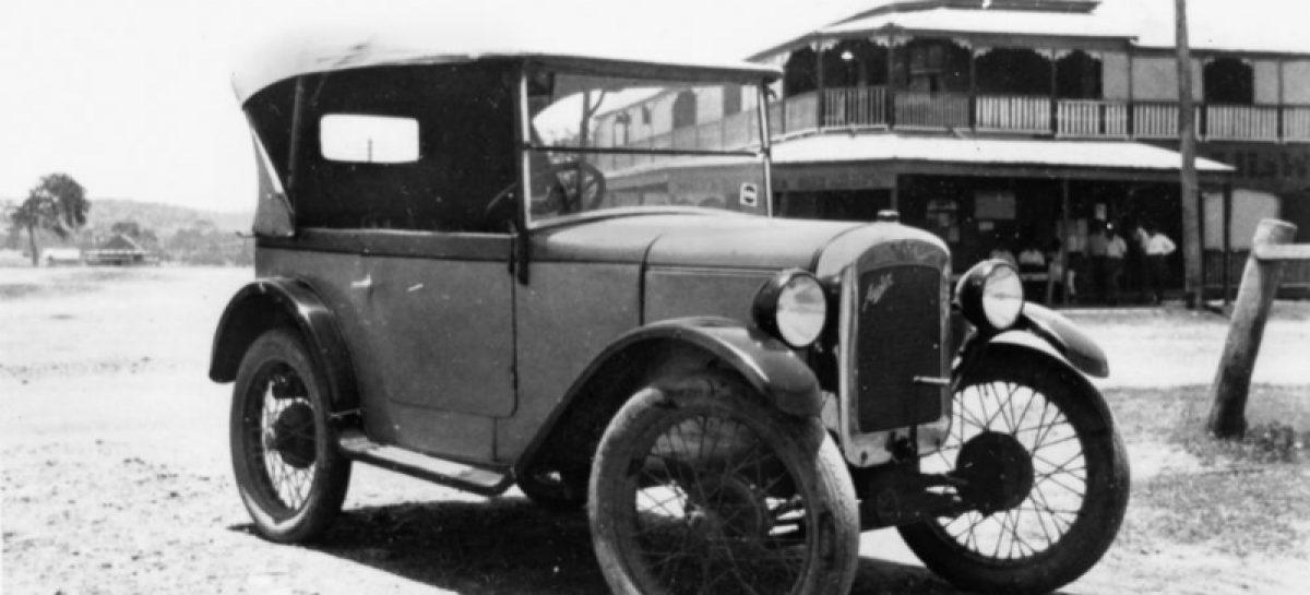 Austin является первым автомобилем с радиоприемником — 1922 год