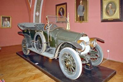 Автомобиль Graf & Stift, на котором ехал Франц Фердинанд