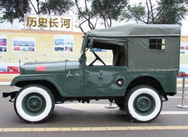Первый автомобиль Шанхайского орудийного бюро – 1957 год