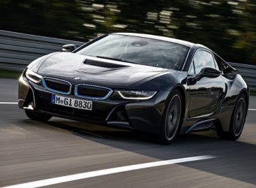 BMW представляет специздание BMW i8 Concours d'Elegance Edition