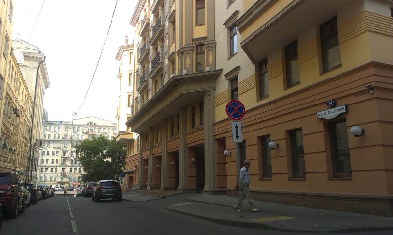 парковка авто перед знаком остановка запрещена