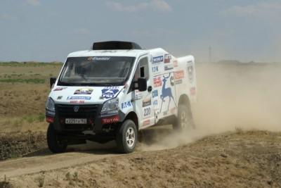 Еще один ралли-рейдовый автомобиль команды ГАЗ - За рулем - Спорт
