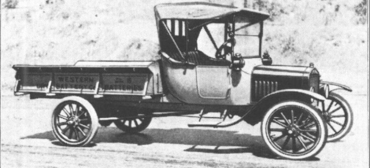 Первый грузовик Ford-TT — 1907 год