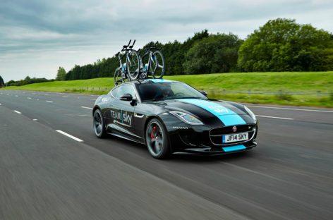 Jaguar представил концепт F-Type R Tour de France