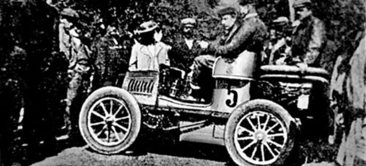 Первый всероссийский рекорд скорости — 1901 год